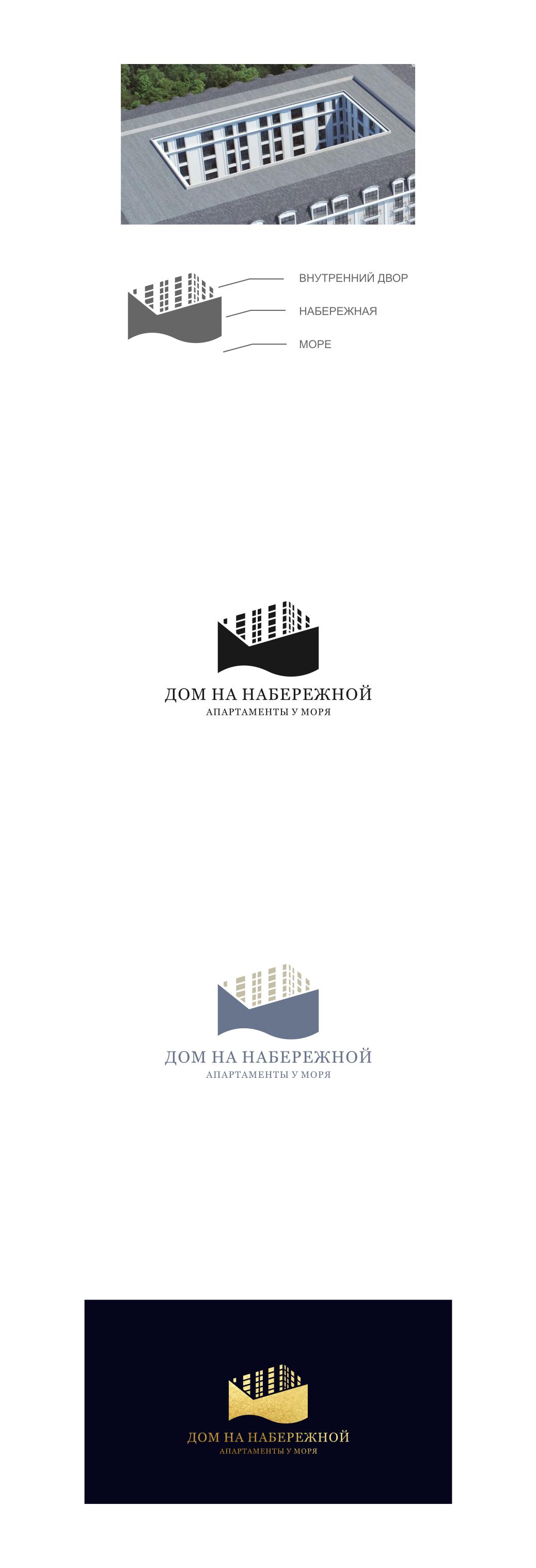 РАЗРАБОТКА логотипа для ЖИЛОГО КОМПЛЕКСА премиум В АНАПЕ.  фото f_3805de6b21b93a89.png