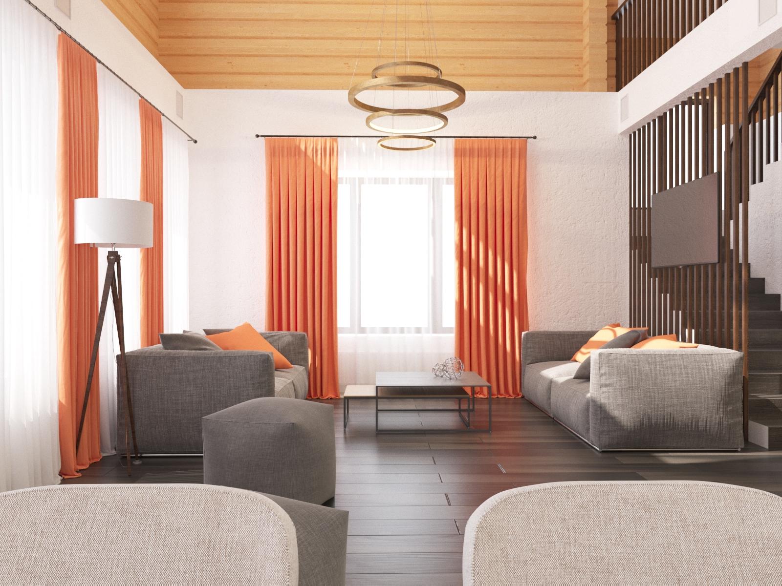Дизайн и визуализация гостинной комнаты частного дома. фото f_9805f4784f07159f.jpg