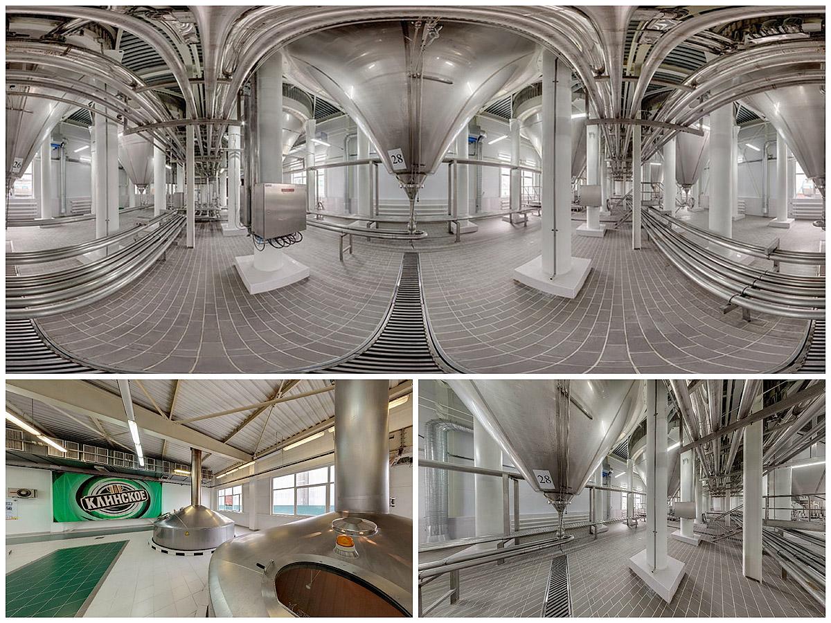 Панорамная фотосъемка Клинского пивоваренного завода для Sun in bew