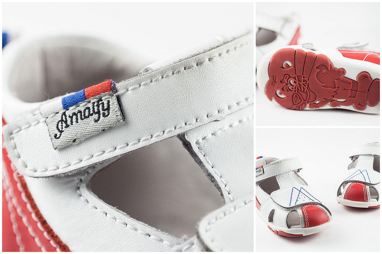 Предметная 3d фотосъемка детской обуви