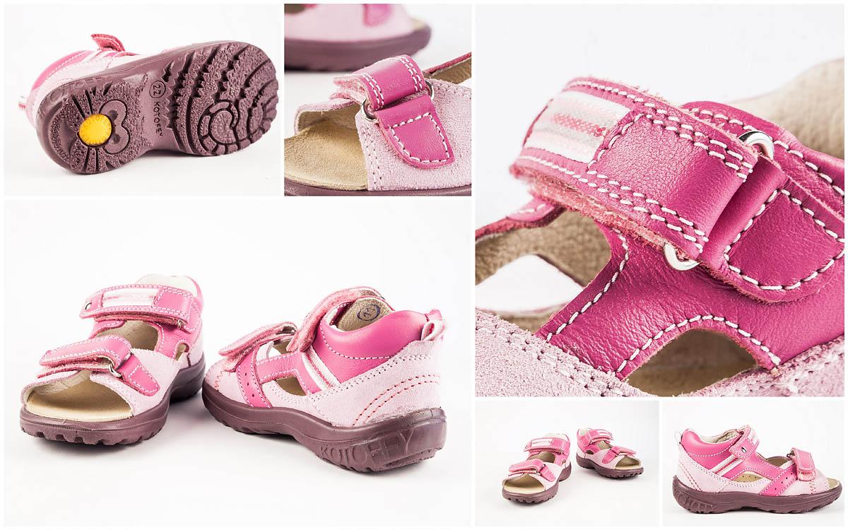 Предметная круговая съемка детской обуви Kotofey