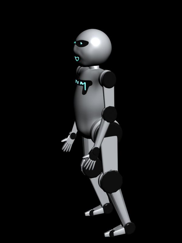 "Модель Робота - Ребёнка ""Роботёнок"" фото f_4b550b995a1a9.jpg"