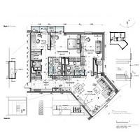 """Перепланировка в г. Актау. 3-х комнатная квартира, S 127 кв. м. в ЖК  """"Оазис"""""""