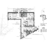 Планировка 3к. квартиры в Санкт-Петербугрге