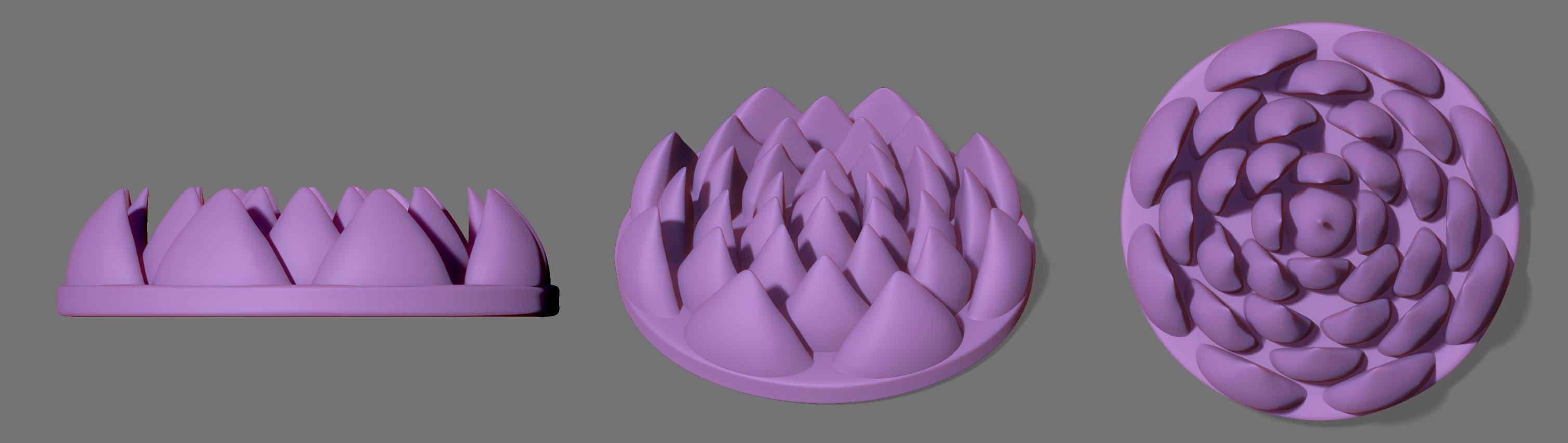 Сделать 3D модель массажного элемента формат STP/UG фото f_0315d2818de576a1.jpg