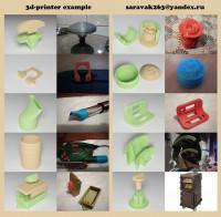 3D-printer example
