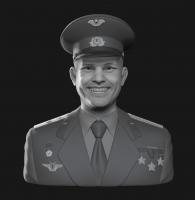 Бюст Гагарин