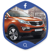 Продвижение Kia Motors на facebook