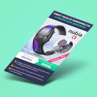 Nubia (Мобильный лендинг)