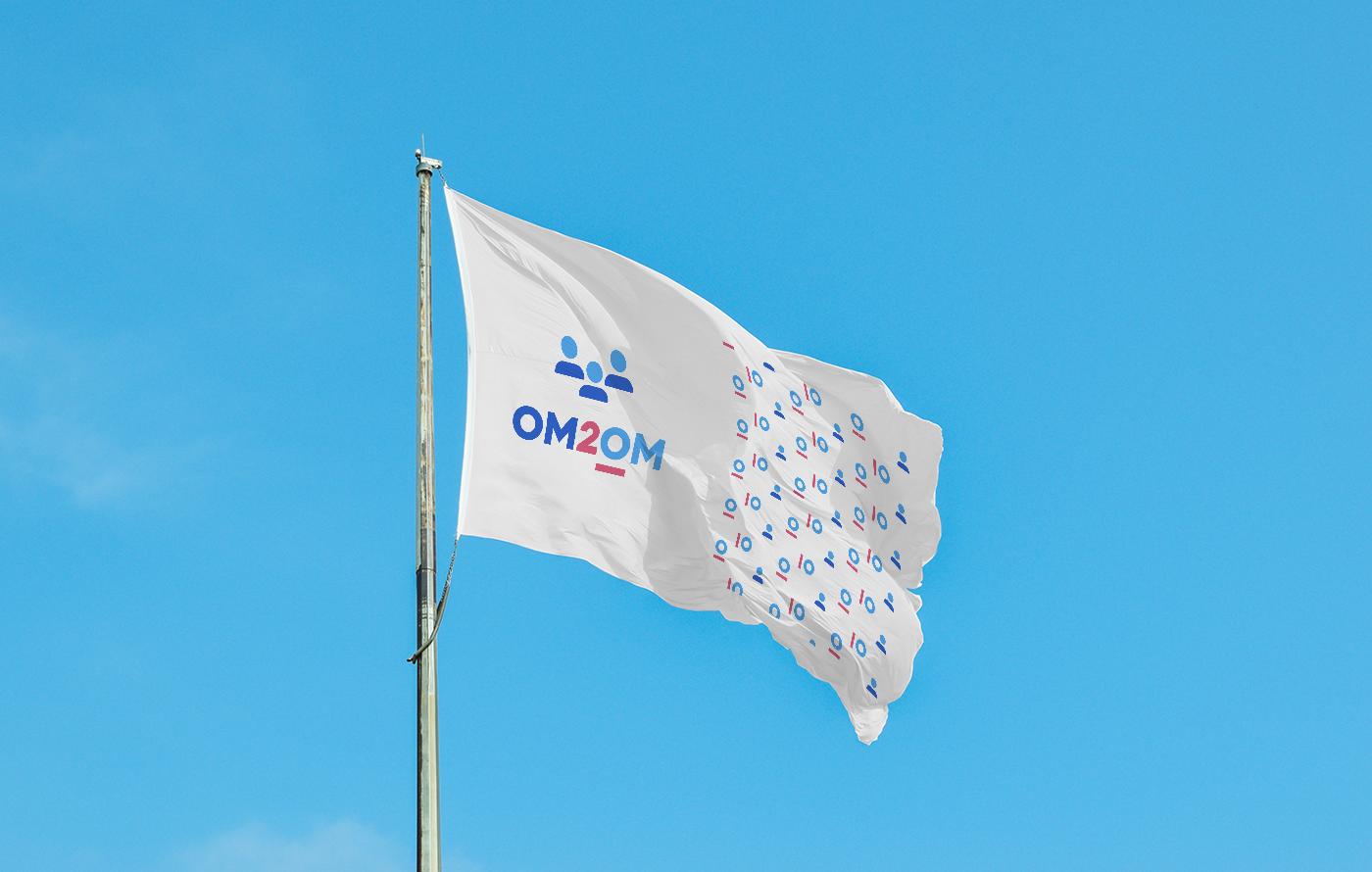 Разработка логотипа для краудфандинговой платформы om2om.md фото f_0415f5fc5720a56b.png
