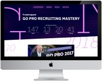 """Адаптивная верстка сайта конференции """"Go Pro Recruiting Mastery"""""""
