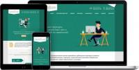 Адаптивный сайт фирмы