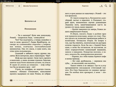 Литературное редактирование повести