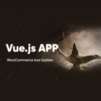 Box Builder Vue.js WooCommerce