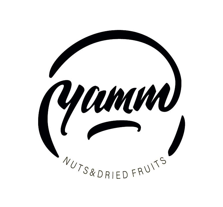Леттеринг логотип для магазина сухофруктов и орехов