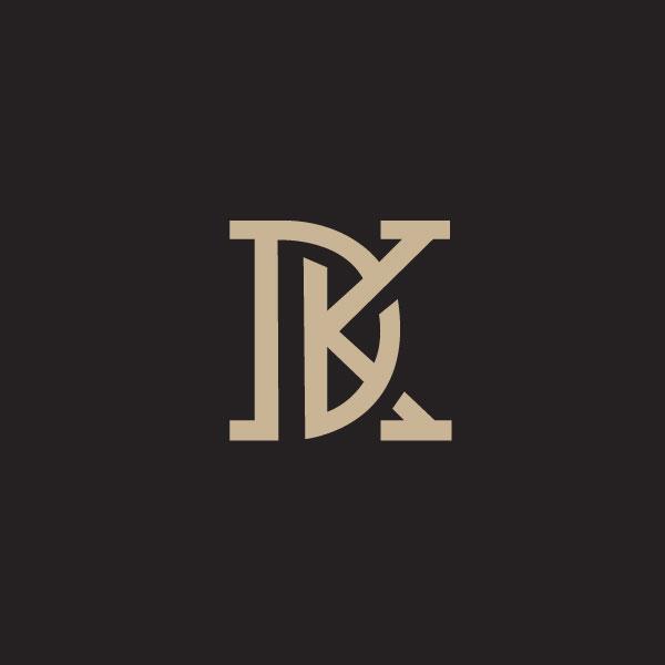 Монограмма DK