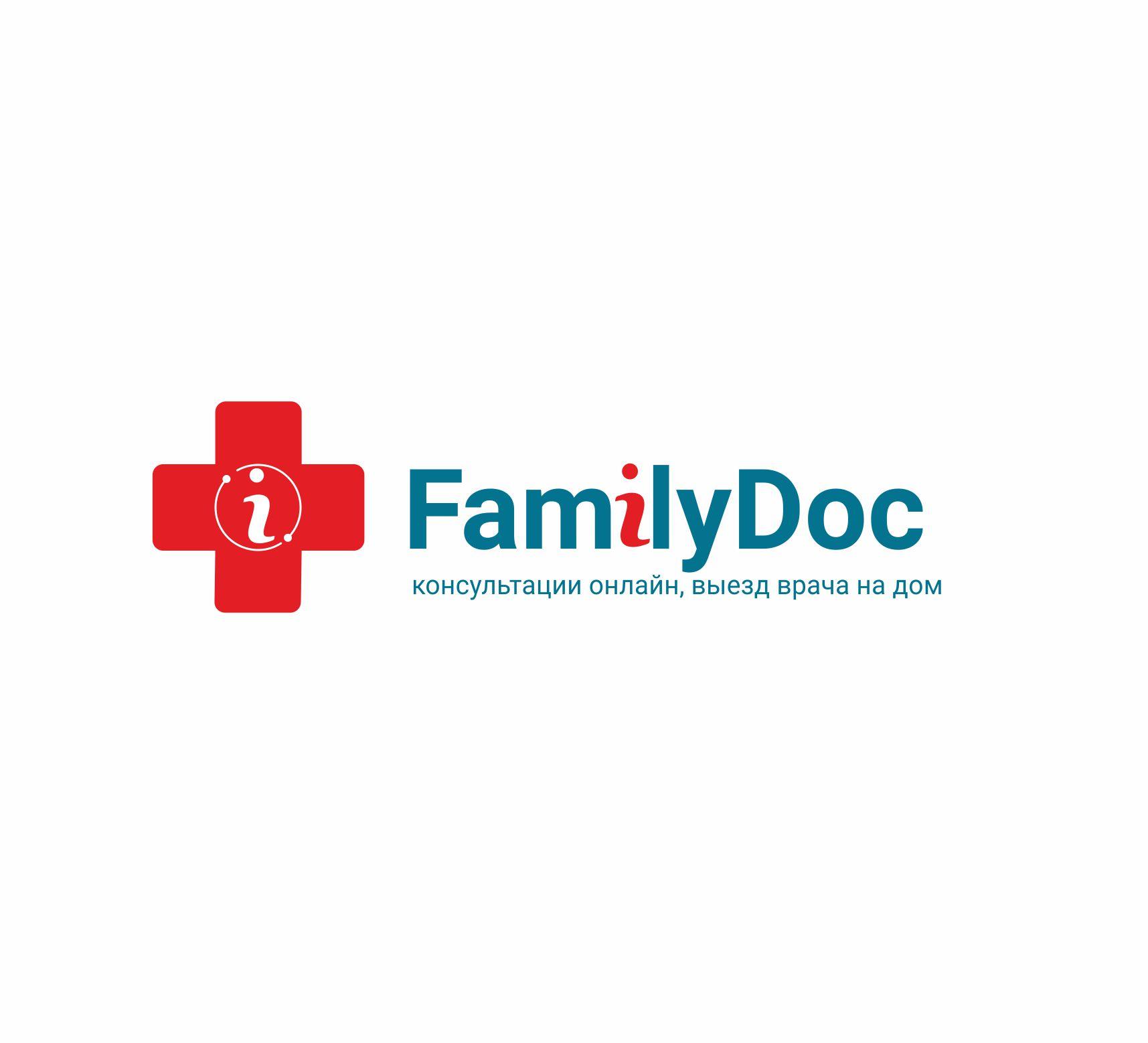 Разработка логотипа для врачебного онлайн сервиса FamilyDoc фото f_1475c348a5dd69db.jpg