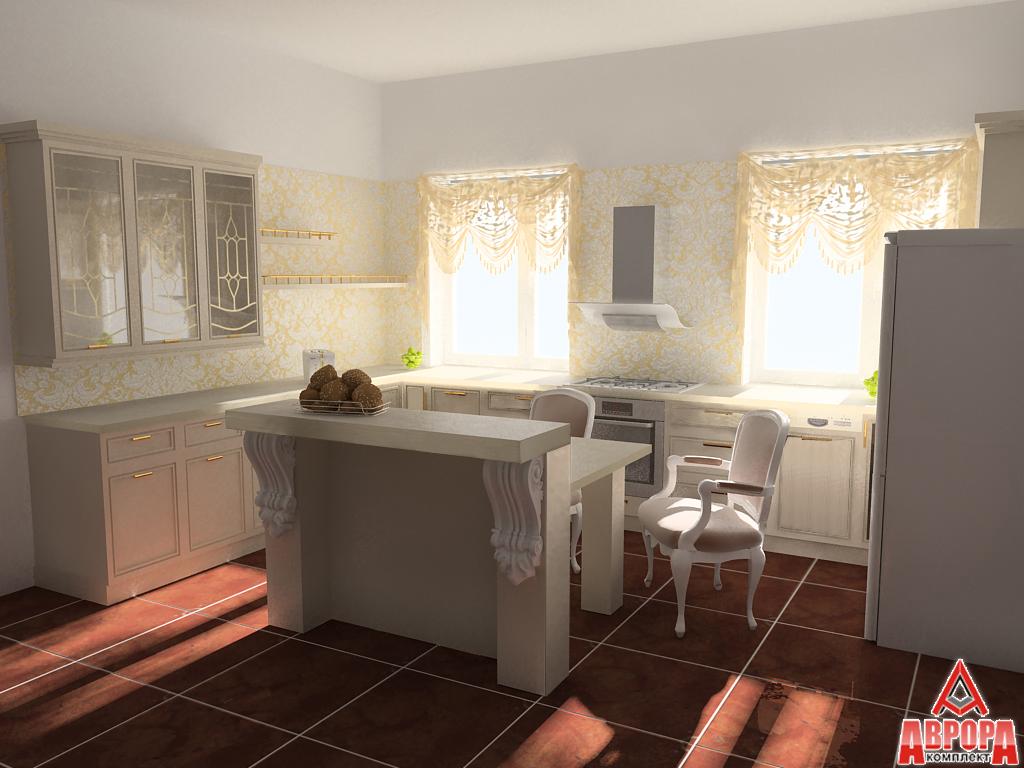 визулизация кухонного гарнитура 6