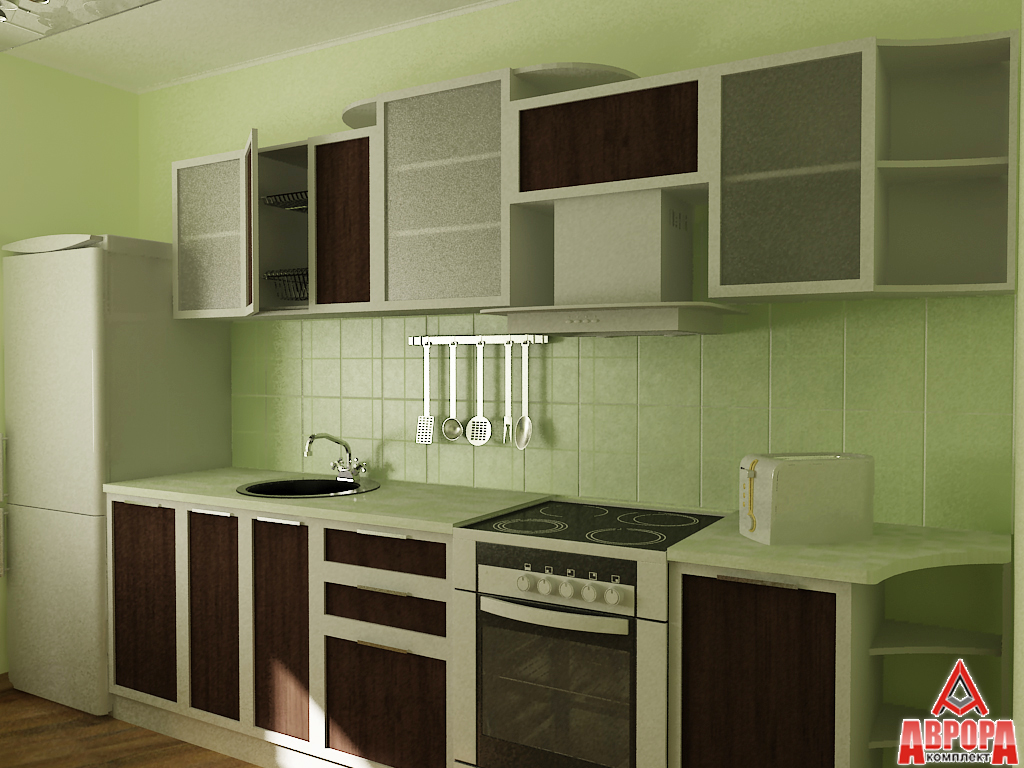 визулизация кухонного гарнитура 1