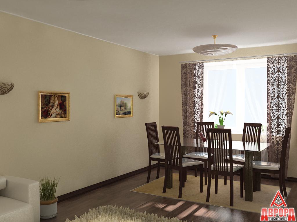 косметический ремонт-гостинная