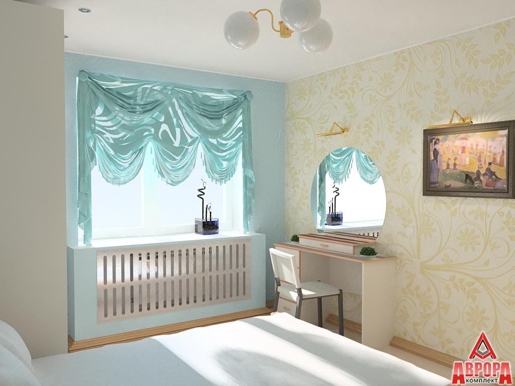 косметический ремонт-женская спальня
