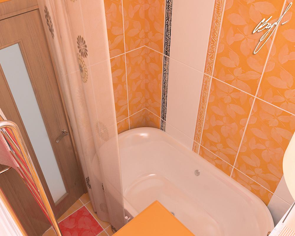 Квартира молодой пары (ванная)