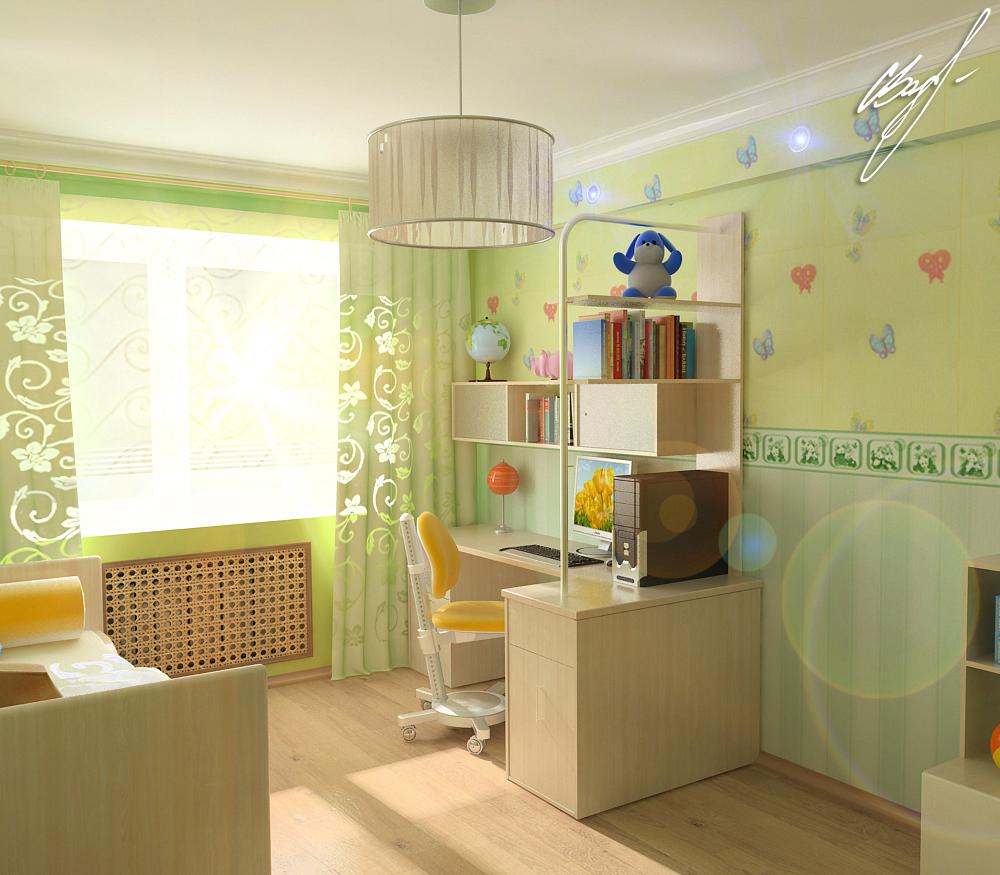 Квартира молодой пары (детская)