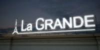 Видео. Вывеска La Grande