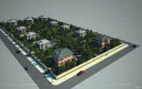 Эскиз посёлка
