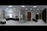 Flash-Panorama Kitchen