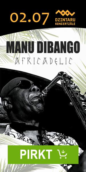 Manu Dubango. Africadelic