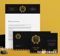 Логотип и фирменный стиль для TNB