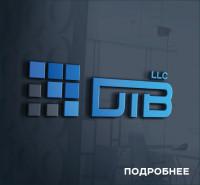 DTB (логотип для компании цифровых технологий )