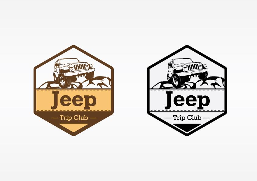 Создать или переработать логотип для Jeep Trip Club фото f_008542adf6a176ae.jpg