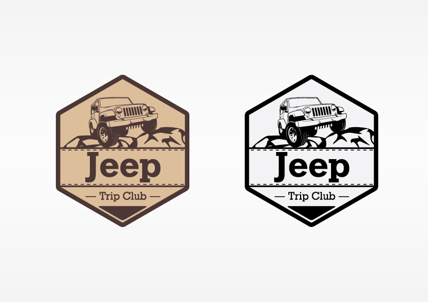 Создать или переработать логотип для Jeep Trip Club фото f_009542adf445ca28.jpg