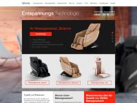 Сайт SENSA Germany, адаптивная верстка