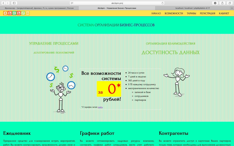 Система организации бизнеспроцессов