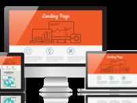 Профессиональный лендинг (landing page) с адаптацией под мобильные устройства