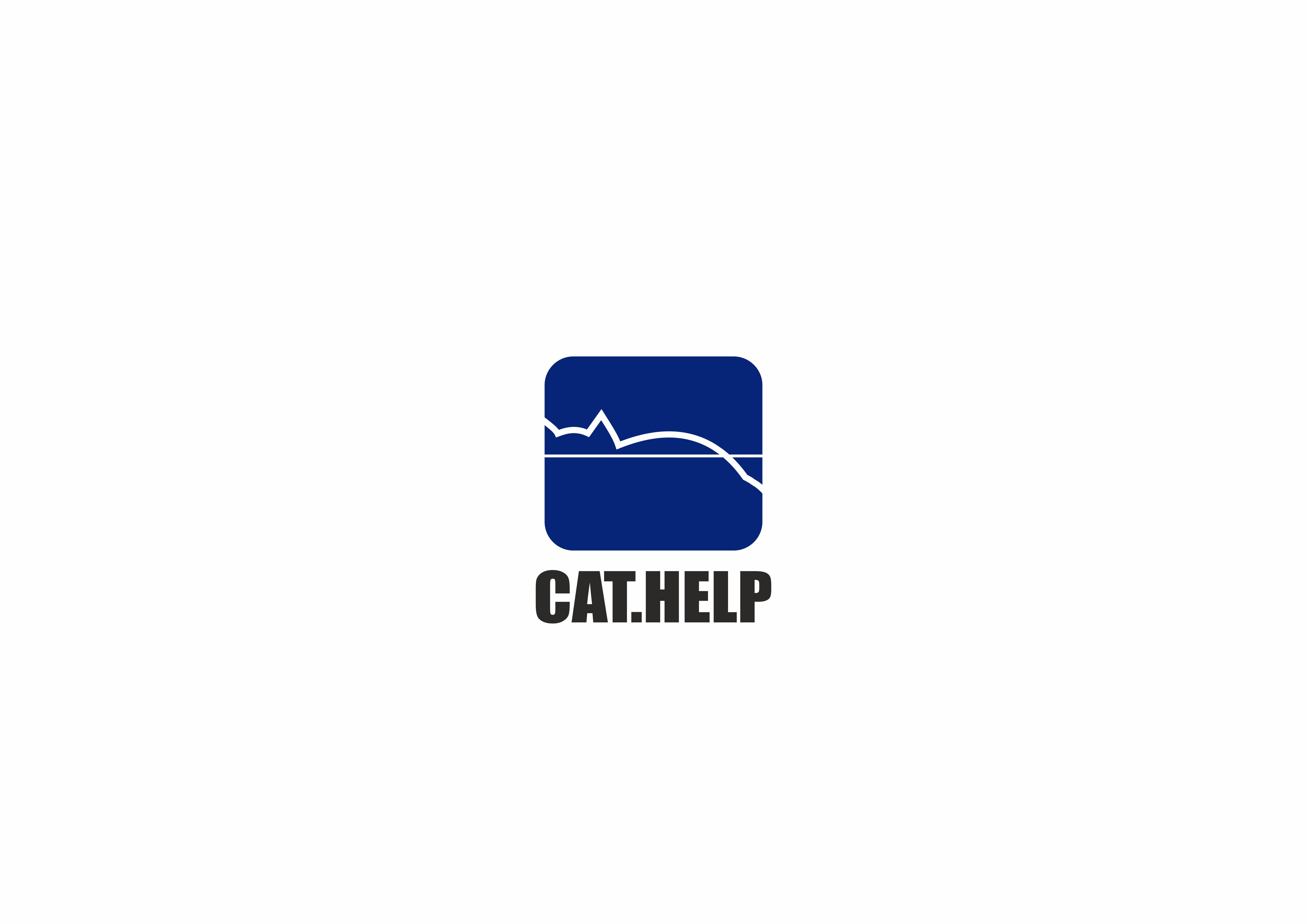логотип для сайта и группы вк - cat.help фото f_56359e219138ac63.png