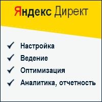 Яндекс Директ: настройка, ведение