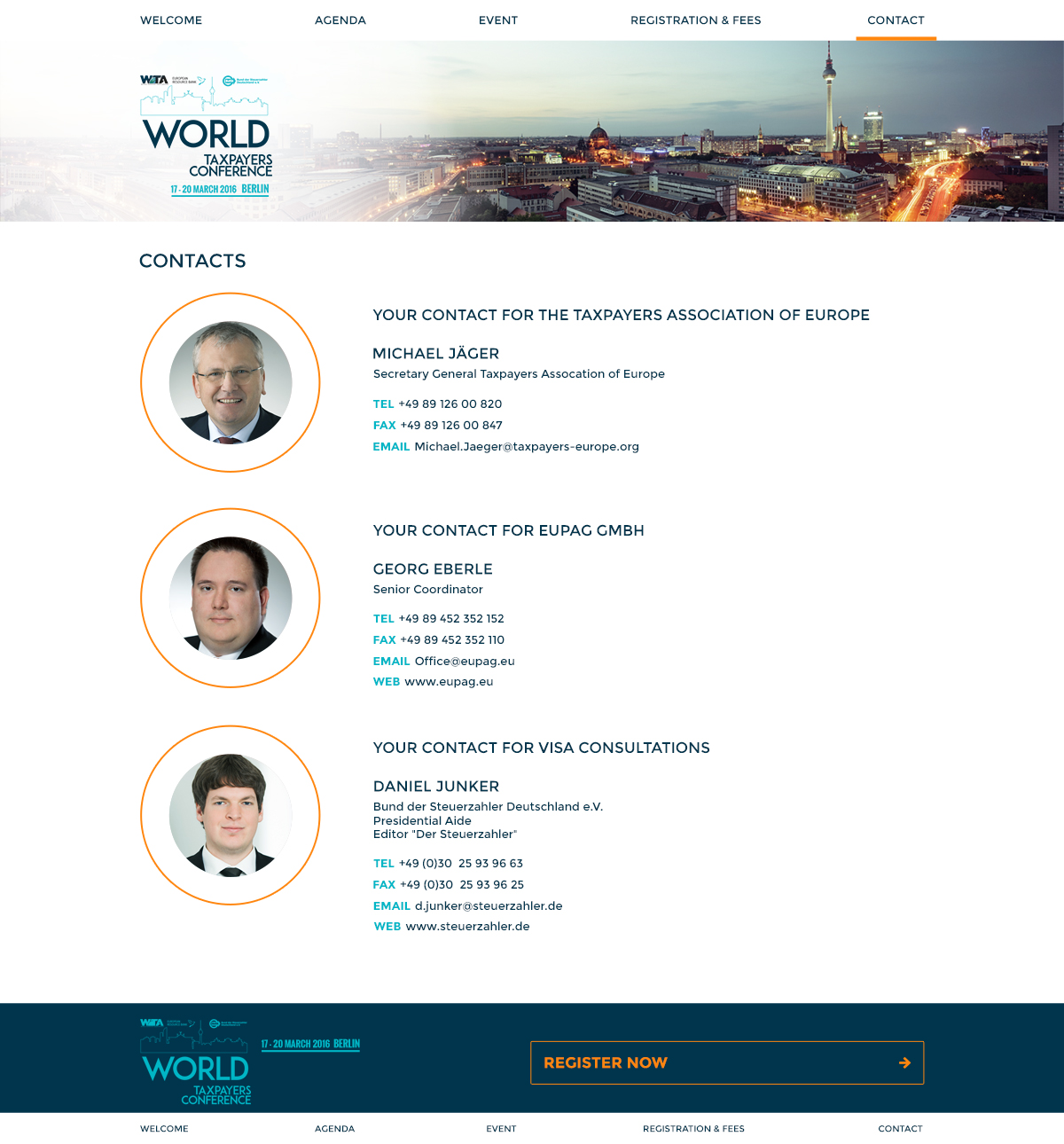 WORLD taxpayers conference