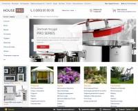 Сайт на продажу – Интернет-магазин товаров для дома и сада (рус. + англ.)