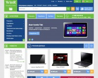 Сайт на продажу - Интернет-магазин электроники и ПО «WinR»