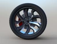 Модель колеса 2