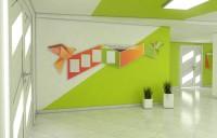 дизайн холла образовательного центра