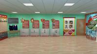 Концепция выставочного помещения школы