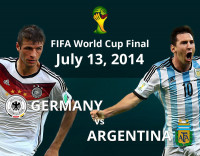 FIFA World Cup 2014 Final | GER vs ARG | Infographics
