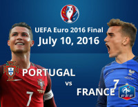 UEFA Euro 2016 Final | POR vs FRA | Infographics