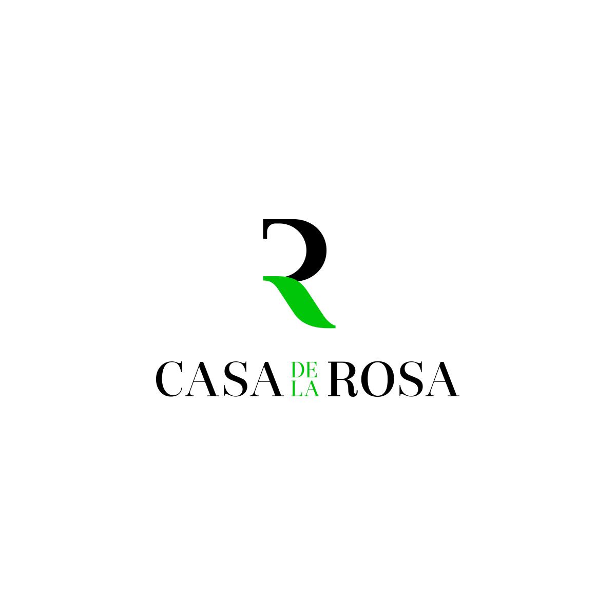 Логотип + Фирменный знак для элитного поселка Casa De La Rosa фото f_0475cd2c2dad790c.jpg