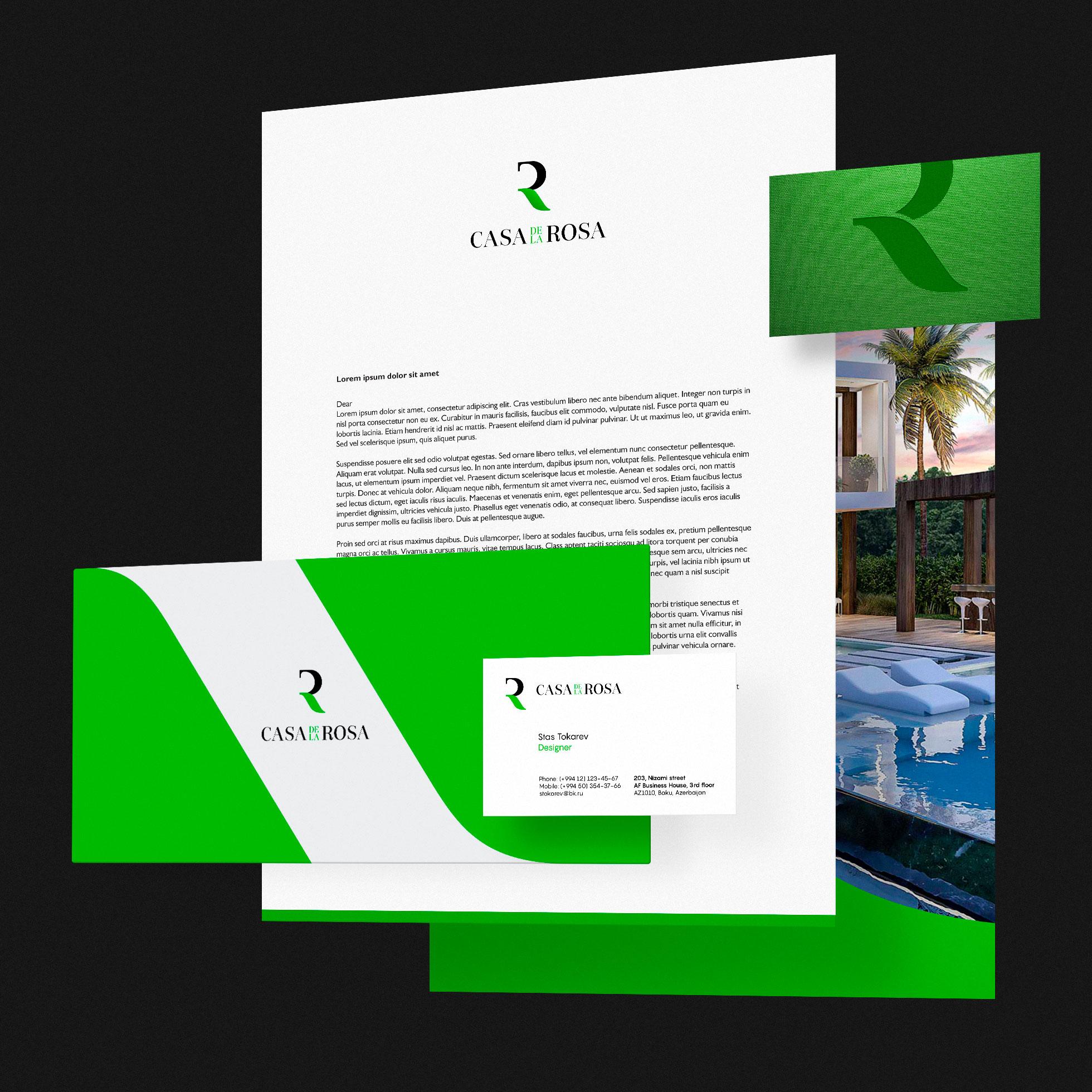 Логотип + Фирменный знак для элитного поселка Casa De La Rosa фото f_6795cd2c29ca8557.jpg